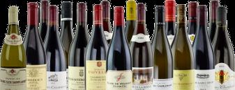 Burgundy bottles